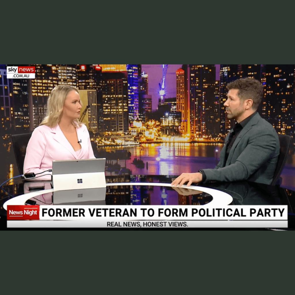 Political Party Website Image